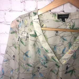 The Limited Bird Print Top